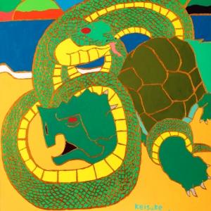 Genbu, The Black Tortoise