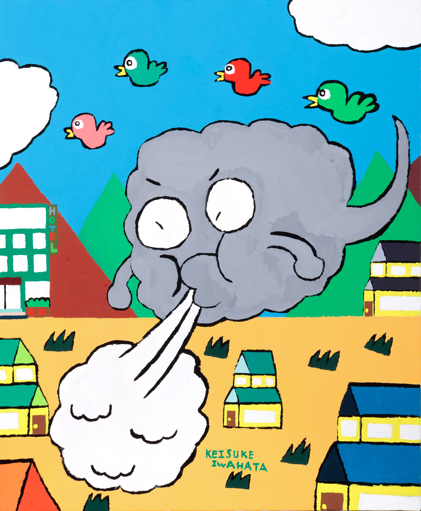 ビュービュー雲