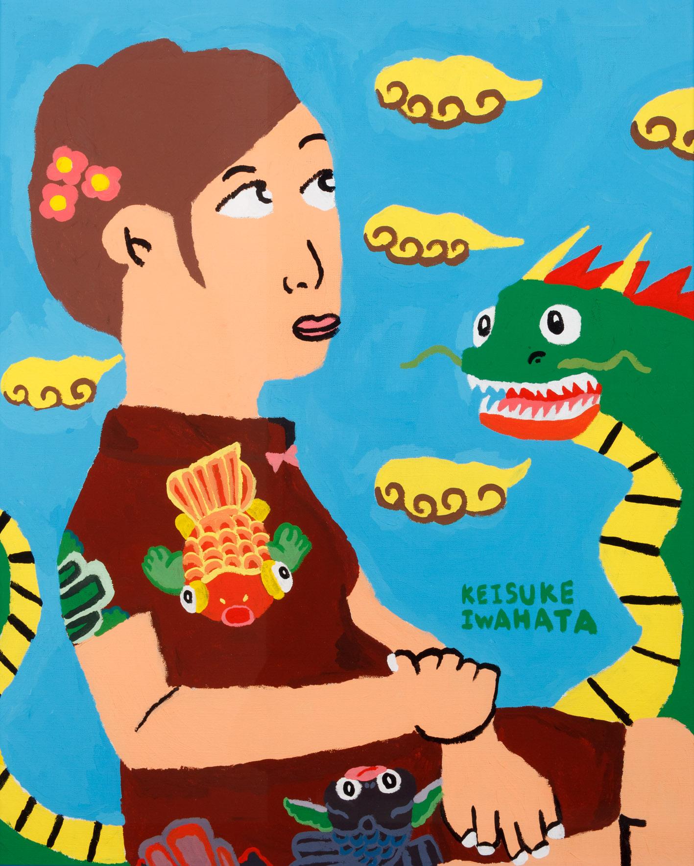 チャイナガール&ドラゴン