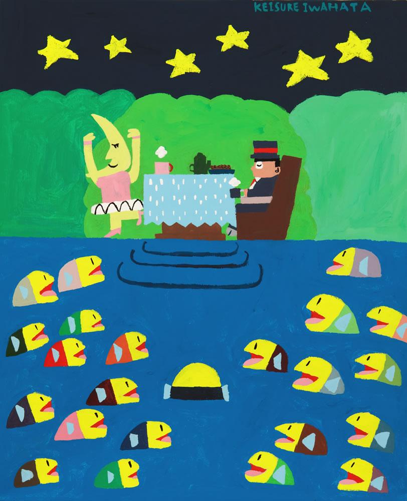 湖でのティータイム 2011.01