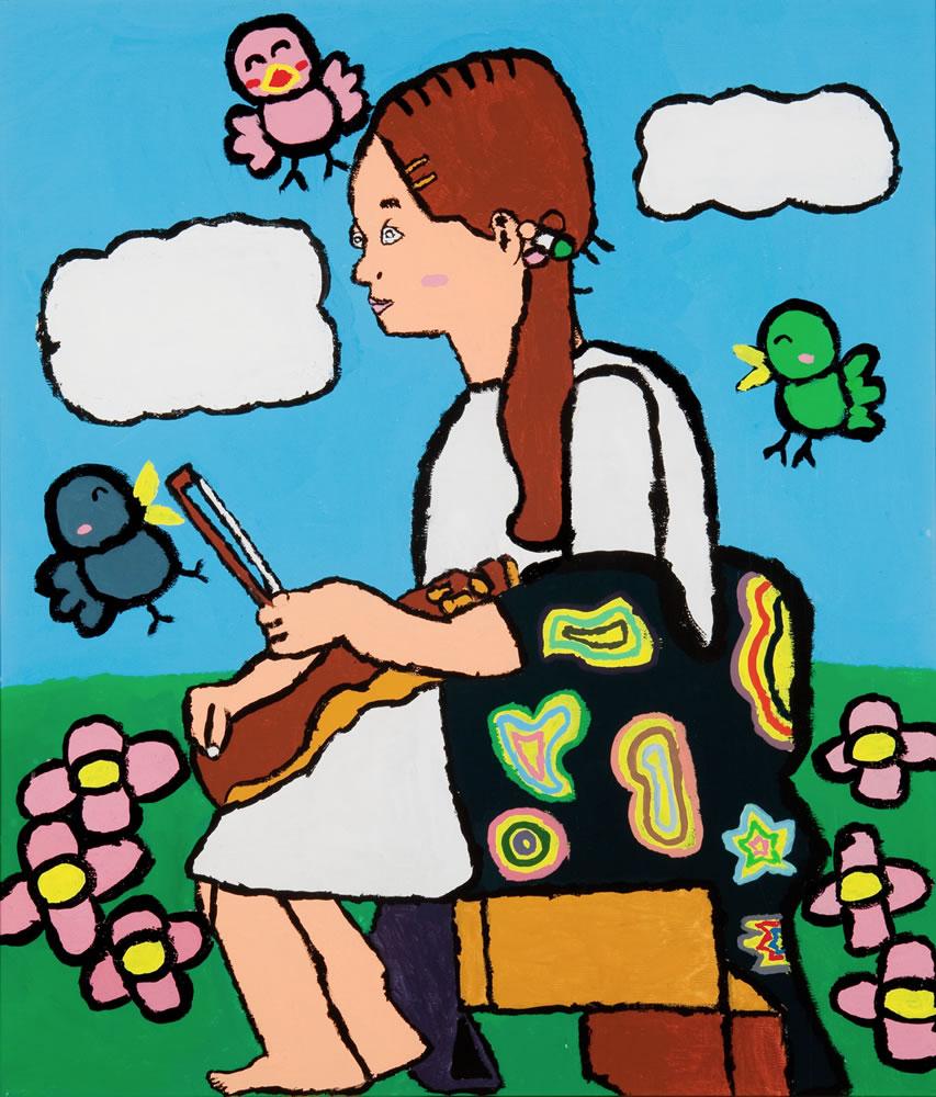 草原のバイオリニスト