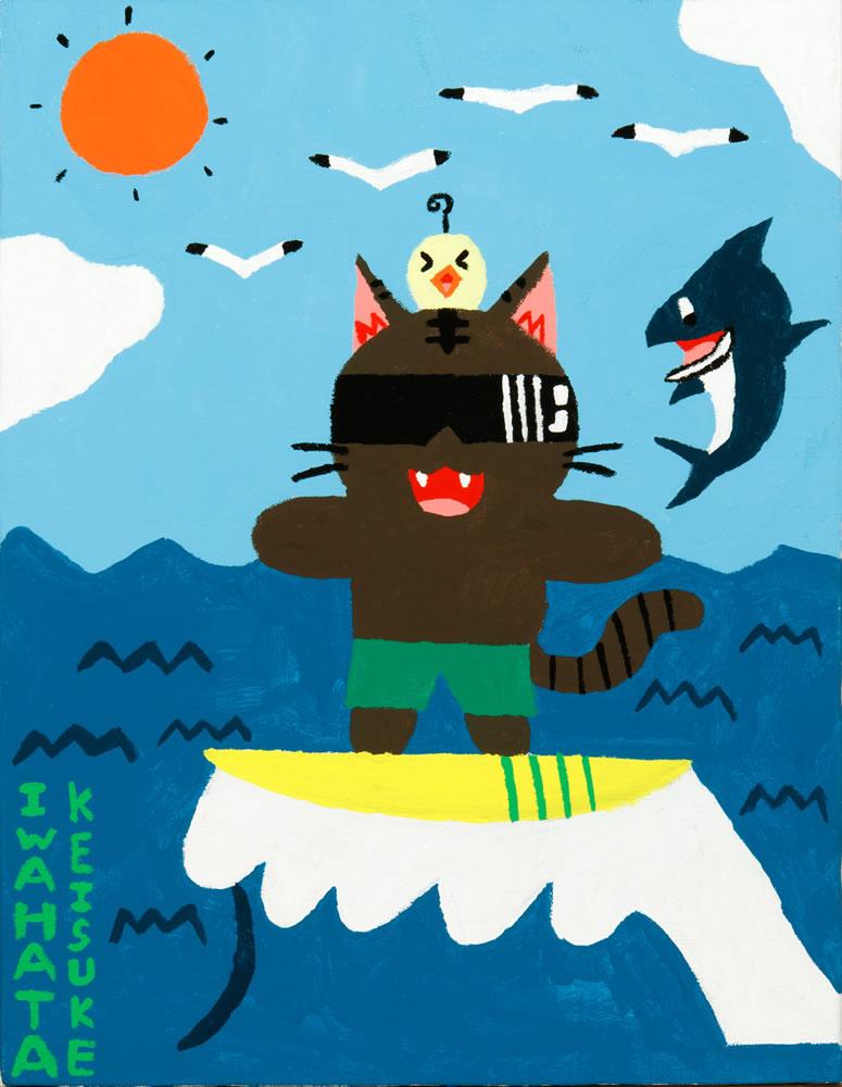 トーニャのサーフィン